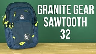 Розпакування Granite Gear Sawtooth 32 Blue 923155