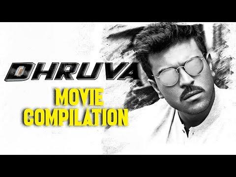 Dhruva Hindi Dubbed Movie   Compilation Scene   Ram Charan Tej   Rakul Preet Singh