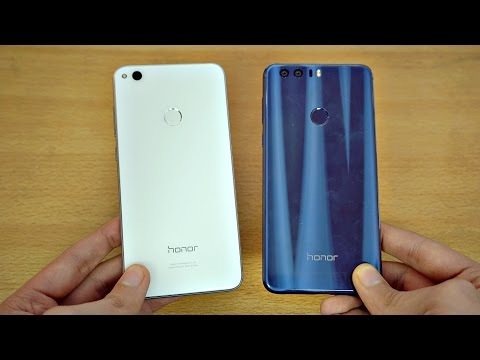 Huawei Honor 8 Lite vs Honor 8 - Review & Camera Test! (4K)