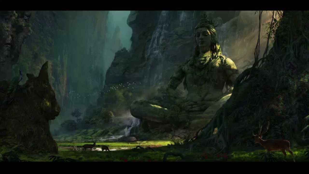 The Destroyer Shiva Hd Wallpaper For Free Download Desktop: Unexplored Shiva Ruins Camera Projection