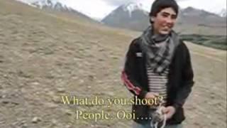 Afghan Shepherd Boys With Slingshots: Who's Goliath?
