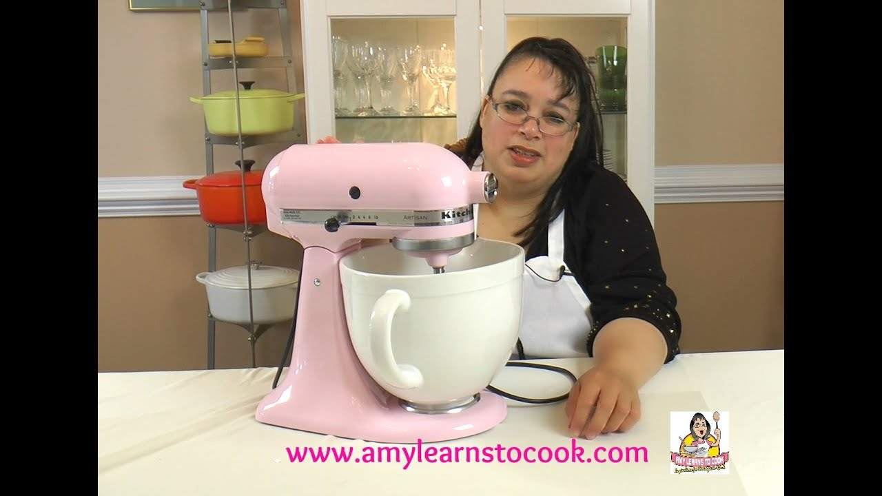 Kitchenaid 5 Quart Stand Mixer Unboxing Review Amy Learns To Cook You