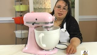 KitchenAid Artisan 5 Quart Stand Mixer Unboxing ~ Stand Mixer Review ~ Amy Learns to Cook