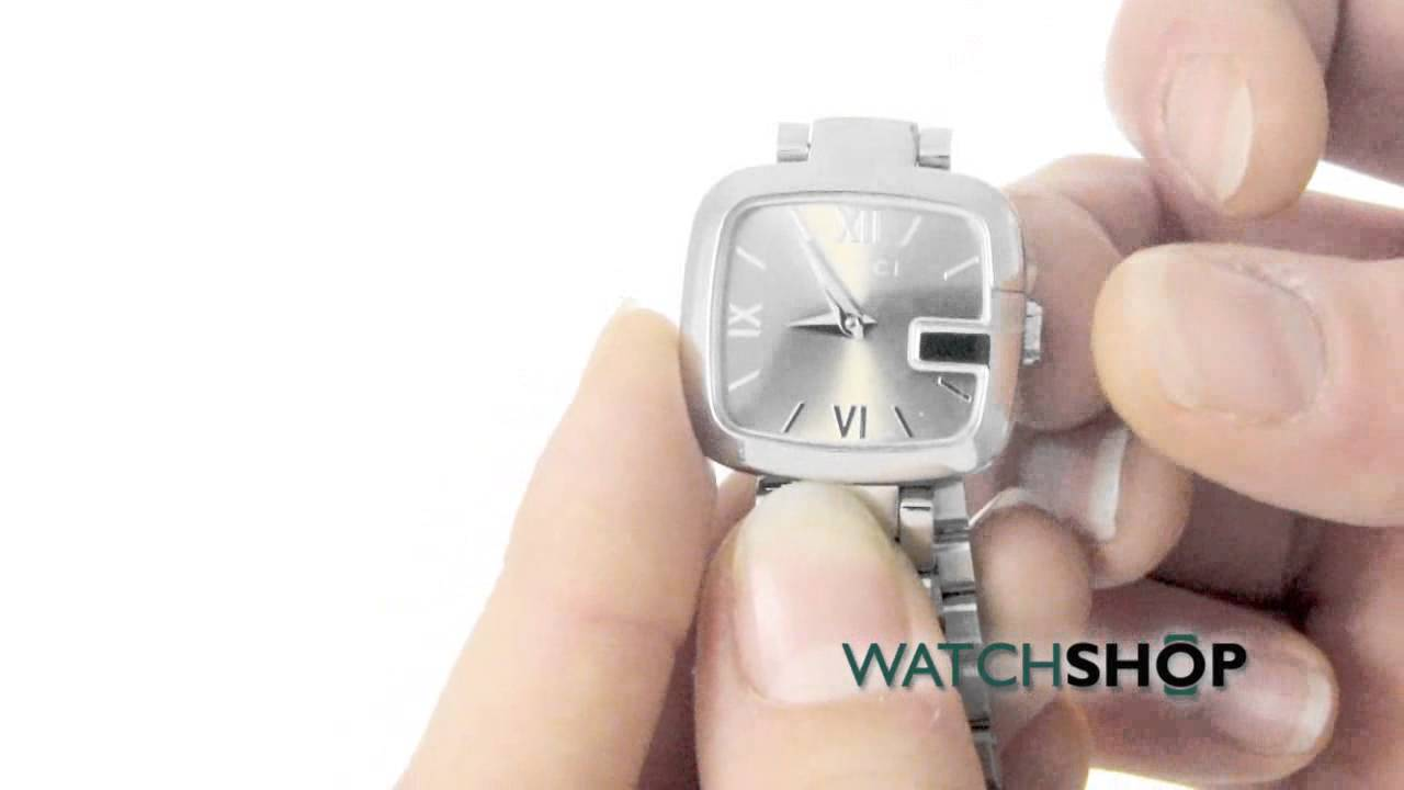 a00c1e44320 Gucci Ladies  G- Watch (YA125516) - YouTube