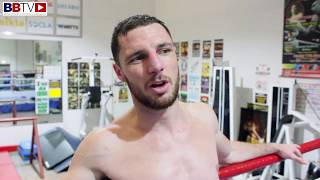 LAST HARD DAY OF CAMP: TOMMY COYLE PREPARING FOR MASHER, REFLECTS ON CAREER
