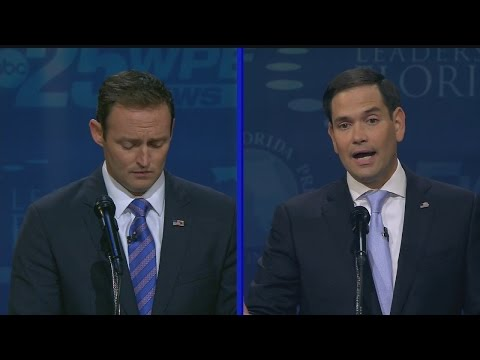 FULL VIDEO: Florida Senate Debate 2016 II: Rubio vs. Murphy