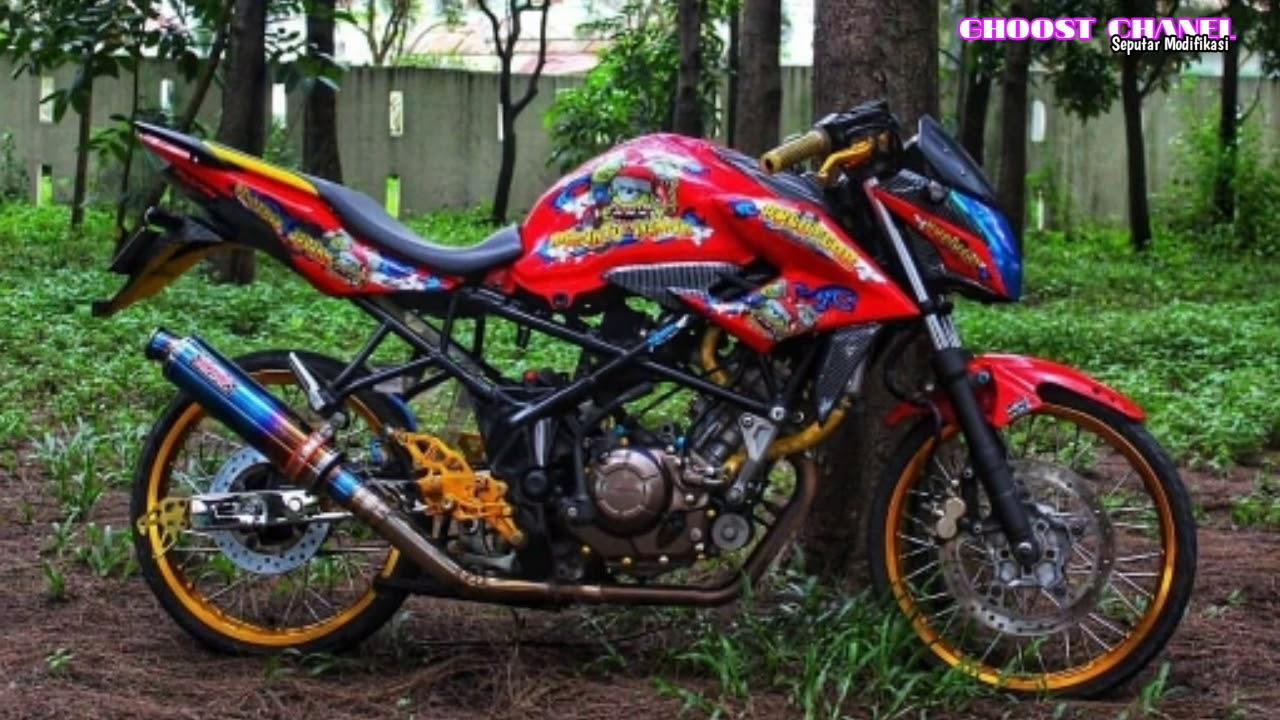 Modifikasi Honda Cb150r Velg Jari Jari By Suka Iseng