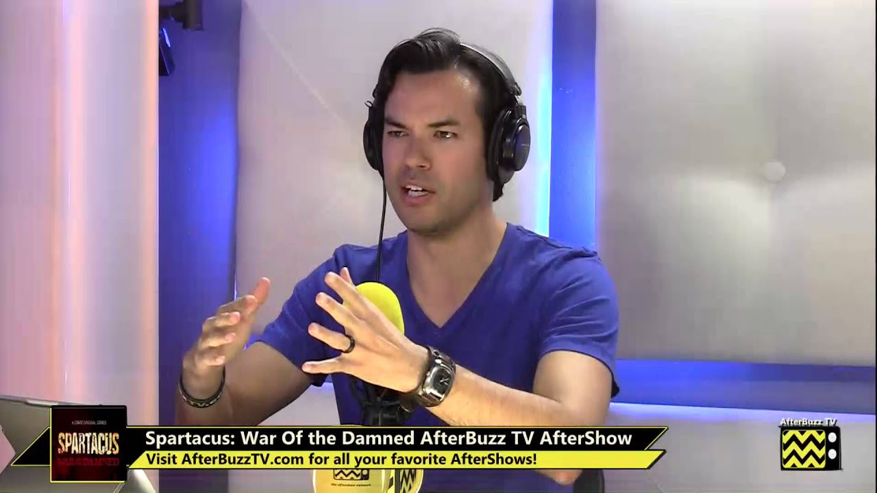 """Download Spartacus: War of the Damned  After Show Season 3 Episode 9 """"The Dead and the Dying"""" 
