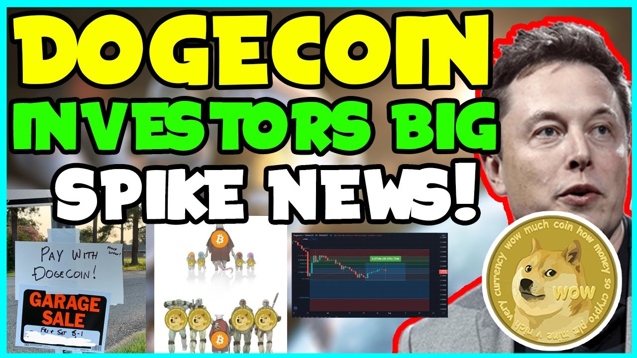*UPDATE* DOGECOIN IS NOW VALUED OVER $11 OVER-TIME! (GREAT NEWS) Elon Musk,  Robinhood CEO & MORE...