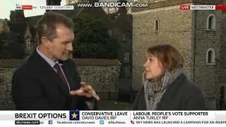 David Davies MP walks off debate with Kay Burley | Sky News