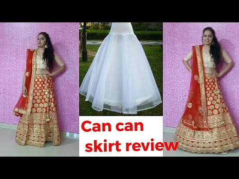 a2944bca10 Amazon can can skirt || amazon online shopping haul and review || can can  skirt from amazon