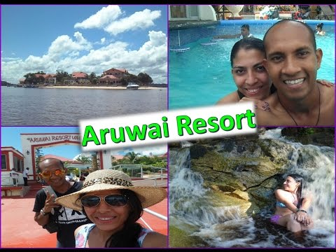 Aruwai Resort + Cascada / II parte del TOUR- Guyana