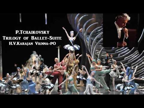 P.Tchaikovsky Trilogy of Ballet Suite [ H.V.Karajan Vienna-PO ] (1961~5)