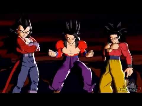 Dragon ball heroes super saiyan 4 gohan vs new towa gameplay youtube - Dragon ball gohan super saiyan 4 ...