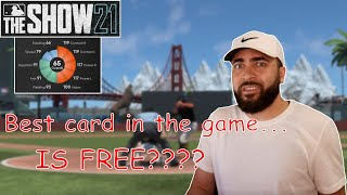 BEST CREATE A PLAYER BUILD (CAP) FOR DIAMOND DYNASTY IN MLB THE SHOW 21! *GOD CARD*