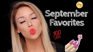 September Favorites! | LustreLux
