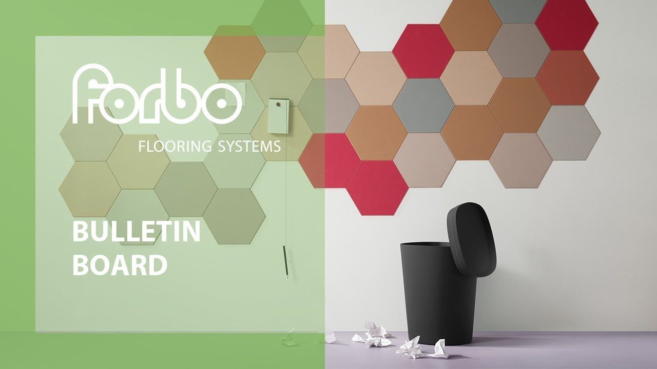 bulletin board by forbo flooring systems youtube. Black Bedroom Furniture Sets. Home Design Ideas