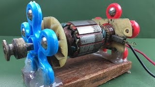 Electric Rotor - How to Repair Powerful DC Motor Using Fidget Spinner DIY At Homemade