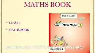 What is the syllabus for class-1 maths math-magic class-1 NCERT