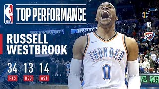 Westbrook Records Huge Triple-Double in the Win | December 5, 2017