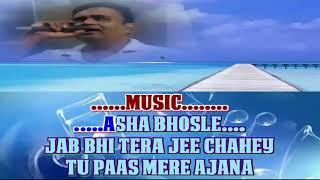 Milne ki tum koshis karana vada kabhi na karna karoke only for male singer by Rajesh Gupta