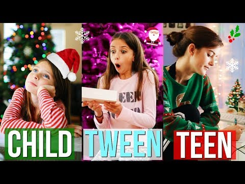 Child vs Tween vs Teen (CHRISTMAS EDITION) !!