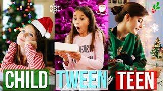 Child vs Tween vs Teen (CHRISTMAS EDITION) !!