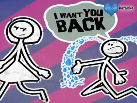 """Me singing """"Want You Back"""" on Enjoy! Karaoke"""