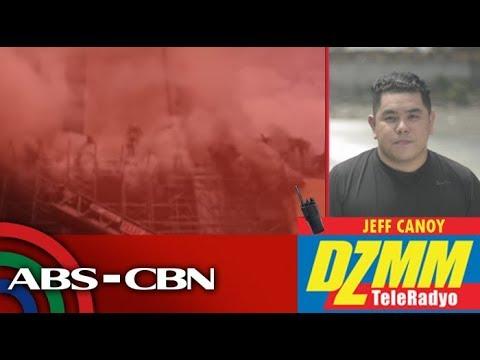 DZMM TeleRadyo: Bahagi ng Manila Pavilion Hotel, nasunog
