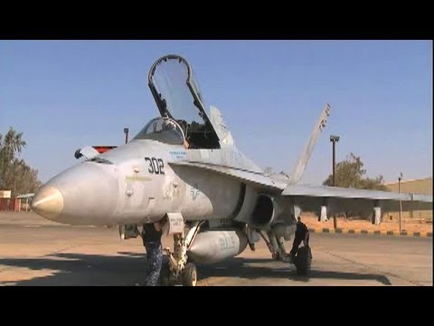 F/A-18 Hornet Preflight, Taxi & Takeoff.