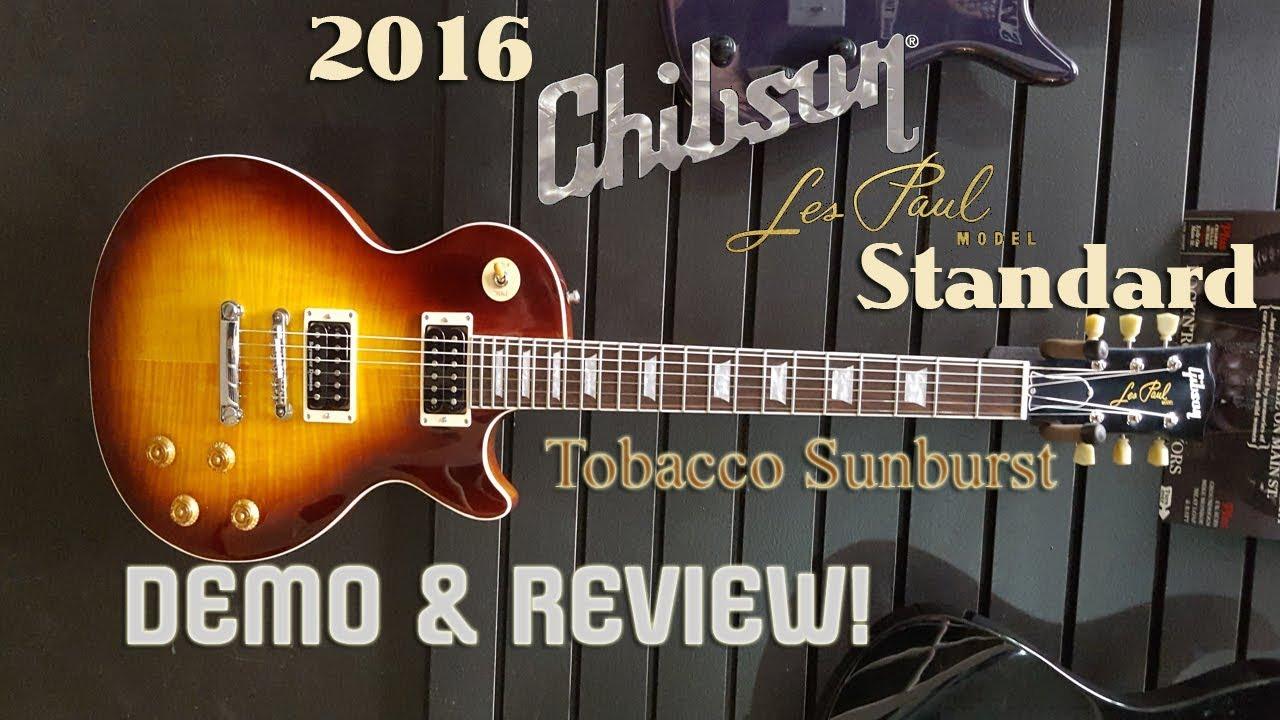 2016 chibson les paul standard tobacco sunburst review pics youtube. Black Bedroom Furniture Sets. Home Design Ideas