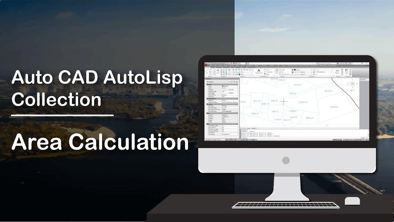 AutoCAD Autolisp Collection - Area