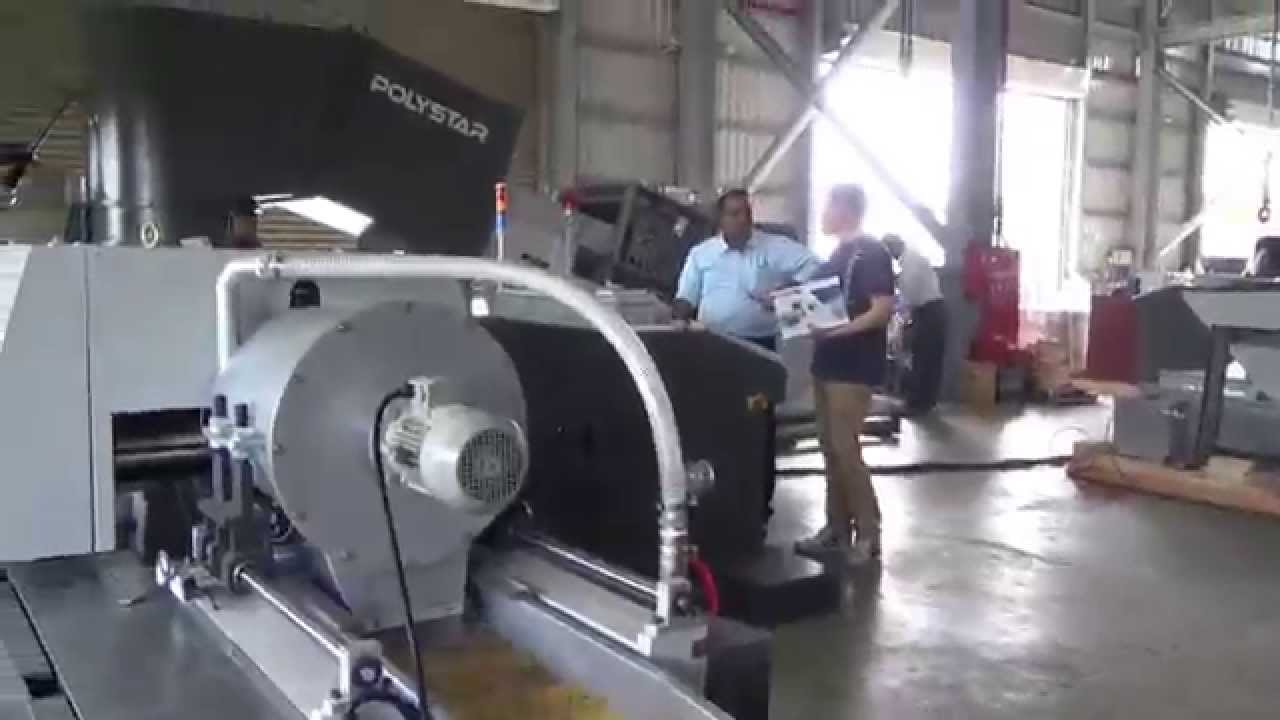 Plastic recycling machine in india youtube for Room setup tool