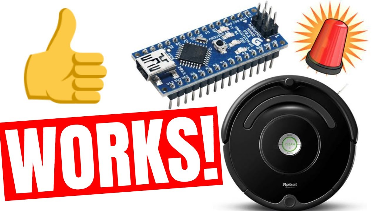 🆕DIY Arduino Project- Roomba Virtual