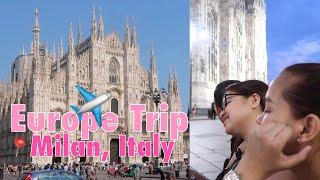 VLOG #59: EUROPE TRIP | MILAN ITALY | missMINEchin