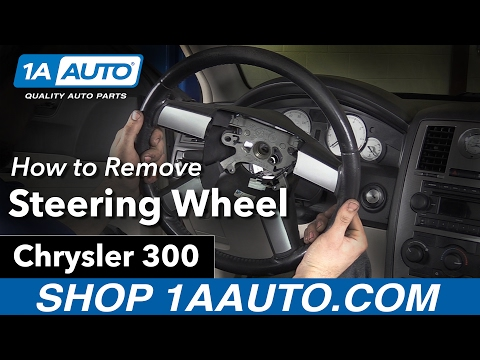How to Replace Steering Wheel 05-10 Chrysler 300