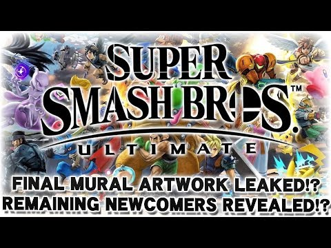 Full Roster Leaked by Smash Mural!? - Super Smash Bros. Ultimate Leak Analysis!