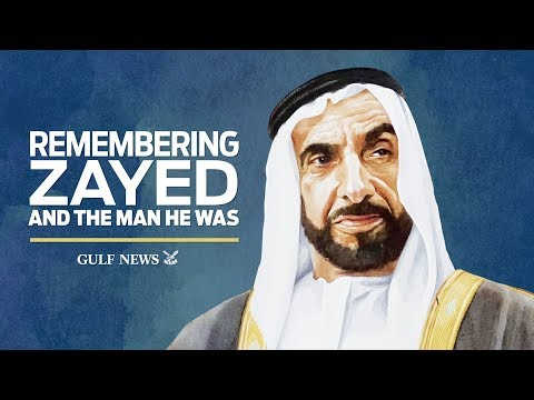 Remembering Shaikh Zayed