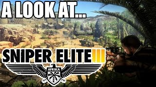 Sniper Elite 3 PC Gameplay, Opinion & First Impressions Review 1080P Ultra Settings