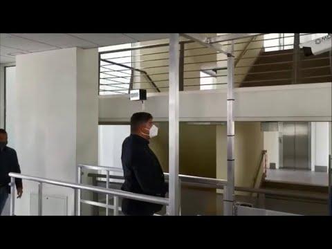 Udine, preparativi in vista dell'esame di maturità: allo Stringher installato il termoscanner from YouTube · Duration:  1 minutes 43 seconds