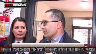 """Francavilla Fontana: operazione """"Villa-Franca"""". Finti braccianti per farsi la villa"""