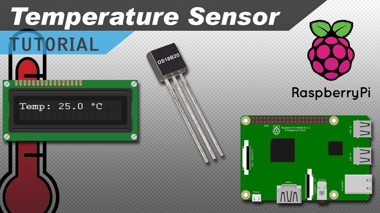 Raspberry Pi DS18B20 Temperature Sensor Tutorial - Circuit