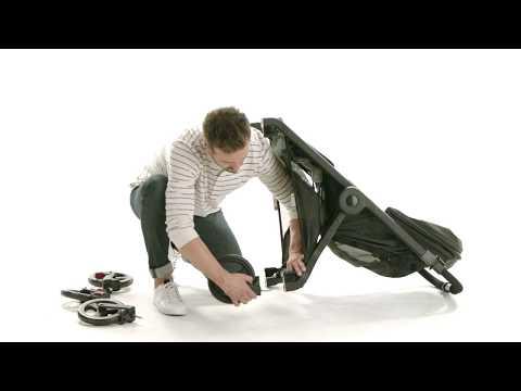 How Do I remove the 180 Stroller Wheels? | Ergobaby
