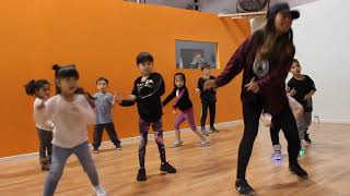 Right On Time Feat Tobymac By Aaron Cole Claire Lewis Choreography Tots Class Video