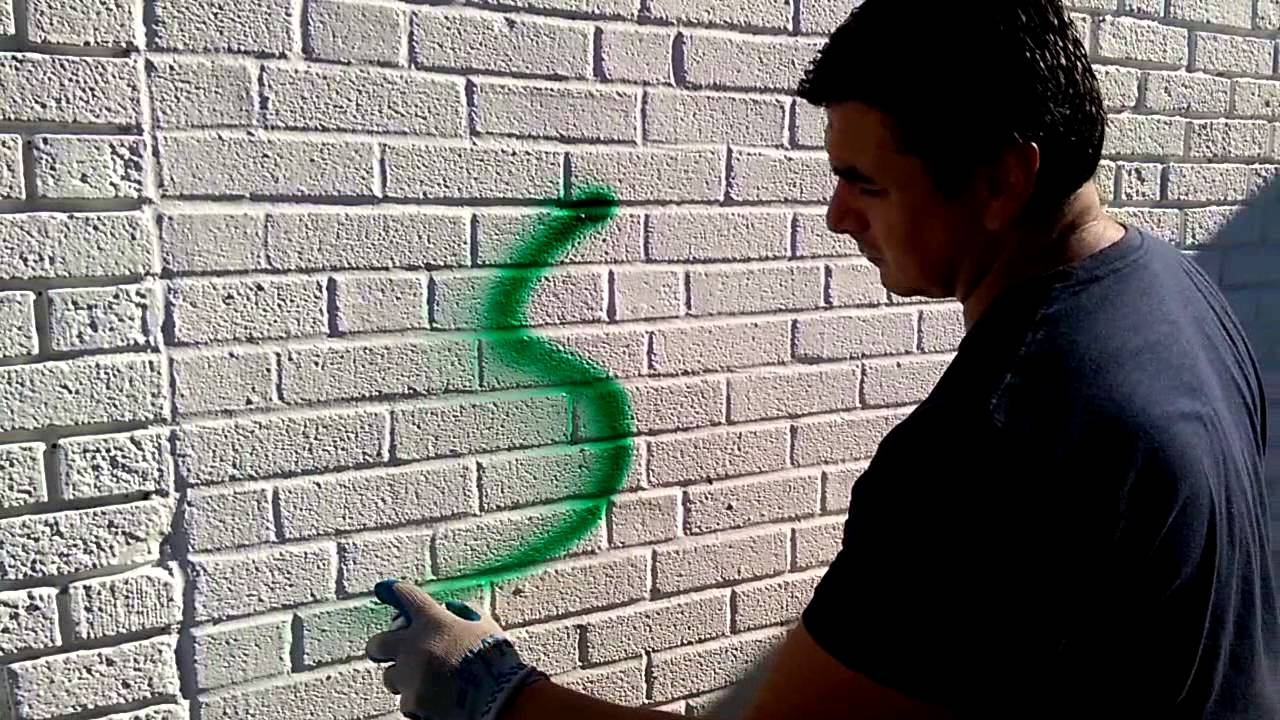 Como remover graffiti de paredes facil youtube - Graffitis en paredes ...