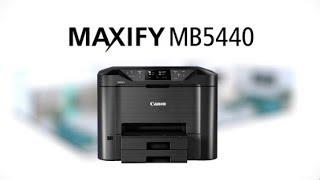 CANON MAXIFY MB5440 струйное МФУ для офиса: обзор.