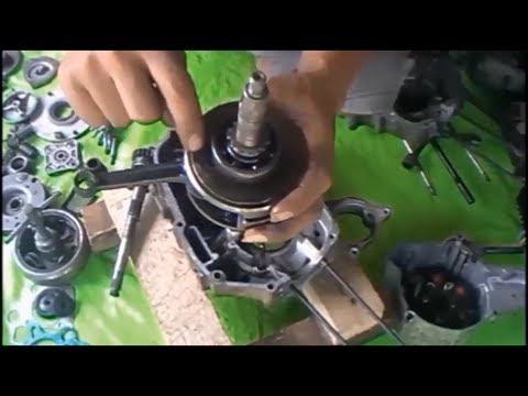PEMBELAJARAN Cara BONGKAR PASANG Mesin Sepeda MOTOR Secara TOTAL