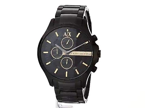 44% Off Black Friday Armani Exchange Men's Classic Stainless Steel Watch