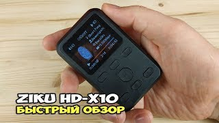 ZIKU HD-X10 - вляпался в зику. Быстрый обзор