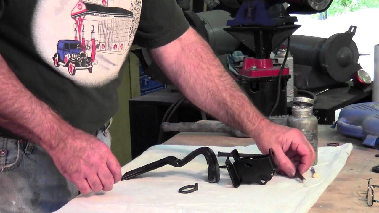 Chevrolet Pickup Door Hinge Restoration Youtube